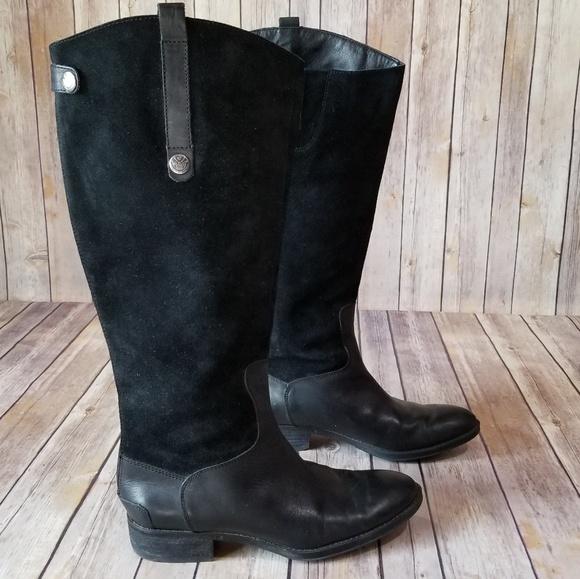 1855d90b4aa8 Sam Edelam Pembrooke Suede Boot 7.5